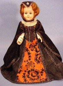 Queen Isabella doll