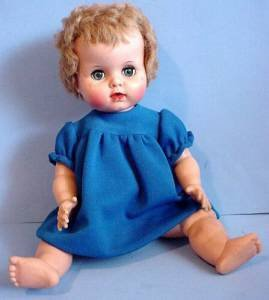 Uneeda baby doll sitting