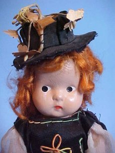 Compossition Doll Hat