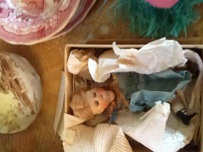Bisque 5 inch doll