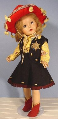 beauty cowgirl doll