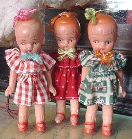 japan bisque girls