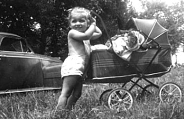 pam-with-doll-in-buggy
