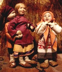 village girl peasant boy village girl