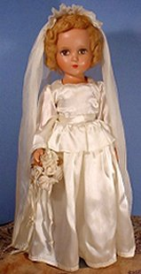 R and B bride doll
