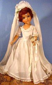 R and B Summer Bride doll