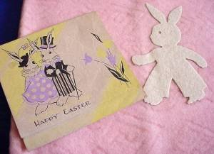 Store stock bunny blanket close
