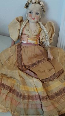 Doll from front